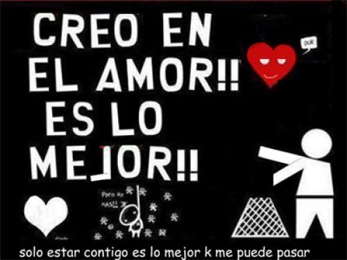 """creo en el amor e1347060210417 Imágenes tiernas: """"Yo creo en el amor"""""""