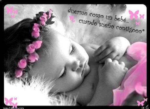 Imágenes tiernas: Sueño contigo (Imagenes para Facebook)