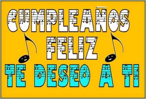 cumpleaños feliz musical felicitar amigo