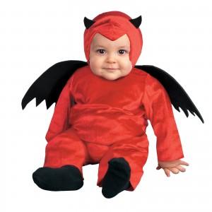disfraz halloween diablo Imágenes tiernas de bebés con disfraces graciosos