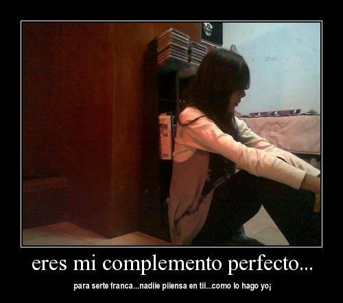 """eres mi complemento perfecto Imágenes de amor """"Eres mi complemento"""""""