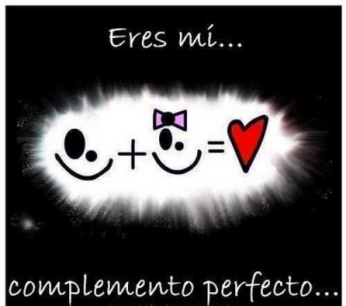 "eres mi complemento e1347667902362 Imágenes de amor ""Eres mi complemento"""