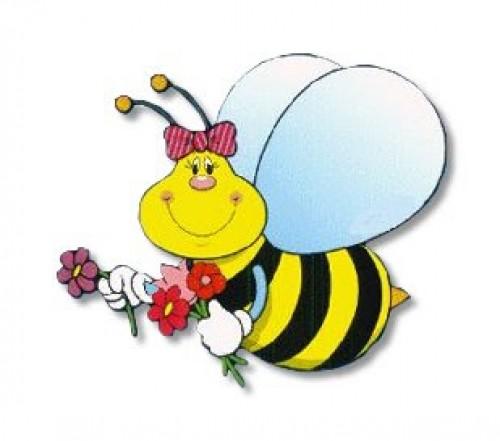 la abeja haragana e1346942632378 Imágenes tiernas de abejitas