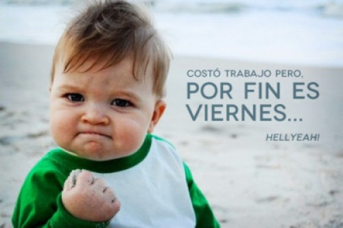 por fin viernes e1347029113164 Imgenes para compartir: Por fin es viernes