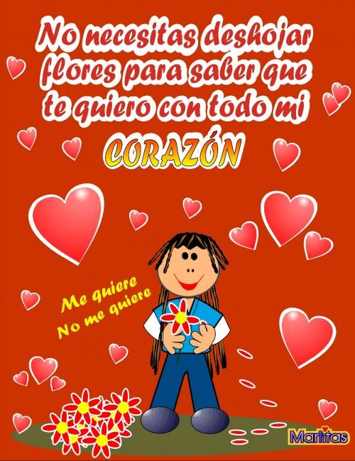 "tarjeta de amor mi corazon e1348069580901 Imágenes con mensajes: ""Te amo con todo mi corazón"""