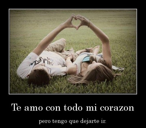 Imgenes con mensajes: Te amo con todo mi corazn (Imagenes para Facebook)
