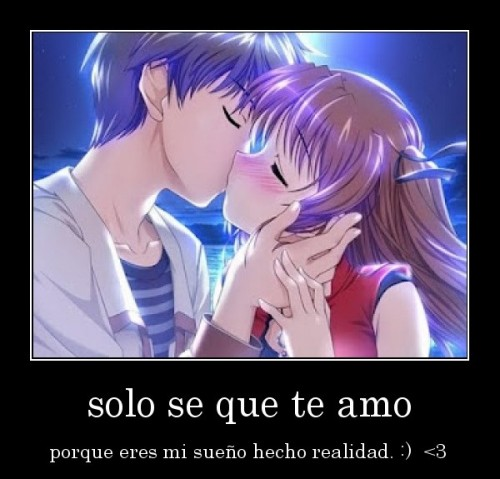 """te amo1 e1348176146972 Imágenes con mensajes: """"Solo sé que te amo"""""""