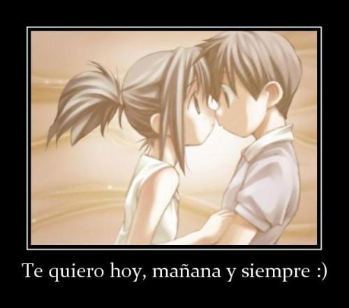 """te quiero hoy manana y siempre  e1348510871792 Imágenes con mensajes de amor: """"Te quiero hoy mañana y siempre"""""""