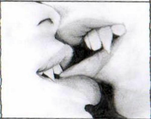 vampire kiss e1347112262115 Imágenes románticas de vampiros
