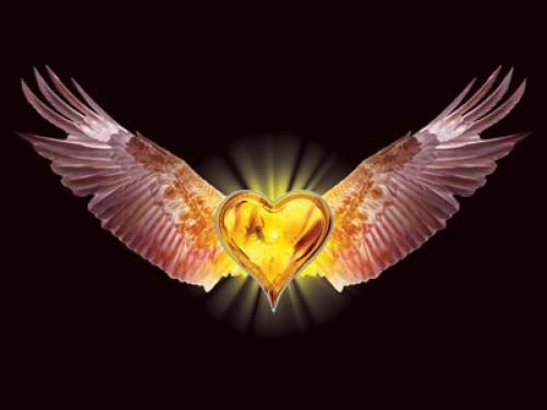 ALAS Y CORAZON e1349285458123 Imágenes tiernas de Corazones con alas