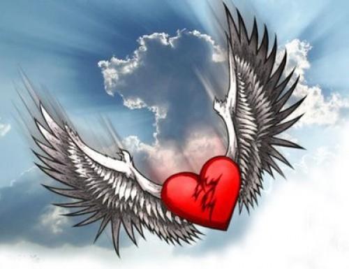 CORAZON CON ALAS1 e1349285654886 Imágenes tiernas de Corazones con alas