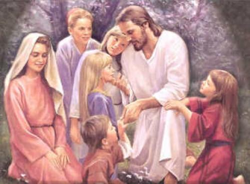 Jesus with Children e1350569635527 Imágenes de Jesús y los niños