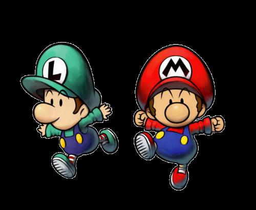 Mario y Luigi bebes
