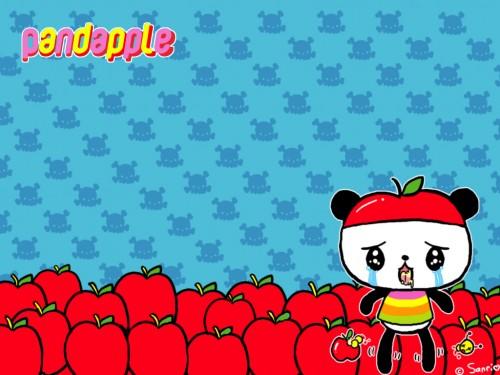 Imágenes tiernas de Pandapple (Imagenes para Facebook)