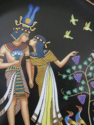 Pharaon y princesa Imágenes románticas egipcias