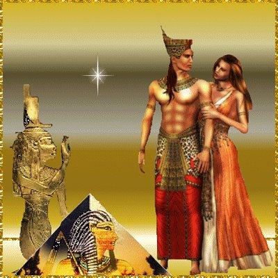 amor egipcio Imágenes románticas egipcias