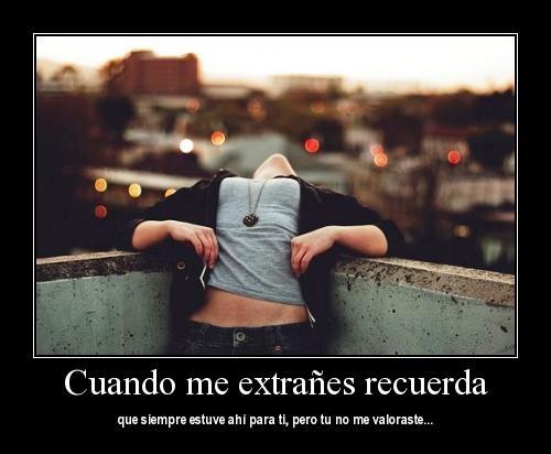 """cuandomeextraes Imágenes románticas con mensajes: """"Cuando me extrañes"""""""