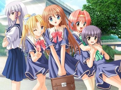 estudiantes  e1349890497257 Imagenes de amistad anime