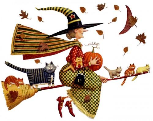 halloween1 e1351612937899 Imágenes tiernas de brujitas