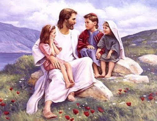 jesus y los niños 1
