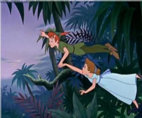 Imágenes tiernas de Peter Pan (Imagenes para Facebook)