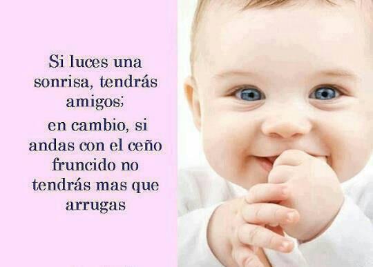 Imágenes de bebes con mensajes Imágenes de bebes con mensajes