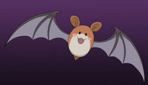 Rosario+ Vampire Ko-chan-volando-e1352564075796