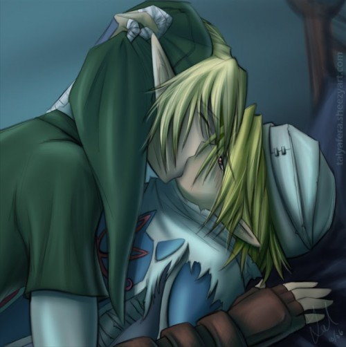 Link x Sheik Zelda e1353824981578 Imágenes románticas de Link y Zelda