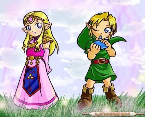 Link y zelda amor e1353767430936 Imágenes tiernas de Zelda
