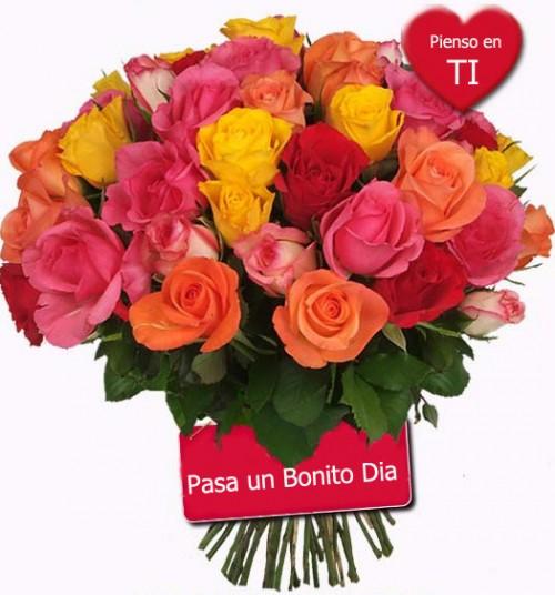 Pienso en ti e1352828355357 Postales románticas de flores