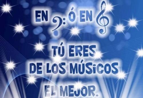 Postal Eres el mejor m sico e1353602856343 Imágenes de Feliz día internacional del músico