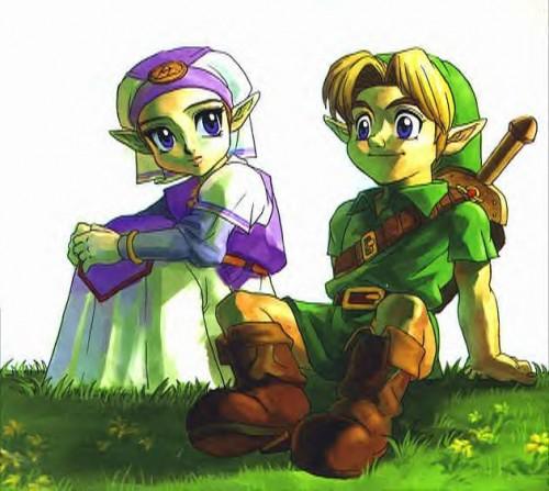 Zelda and Link Ocarina of Time the legend of zelda 401267 630 564 e1353767480330 Imágenes tiernas de Zelda