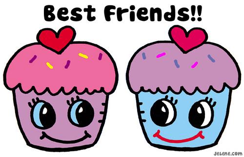 bff cupcakes Imágenes de amistad BFF