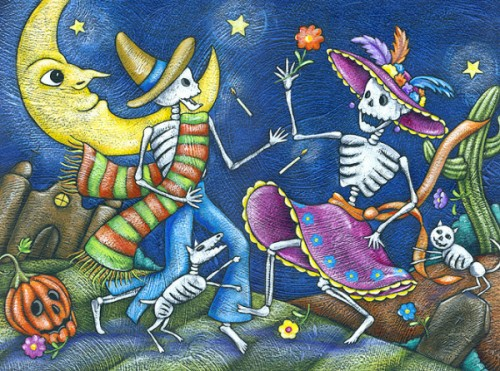 dia de los muertos mexico e1351862544428 Imágenes del día de los muertos