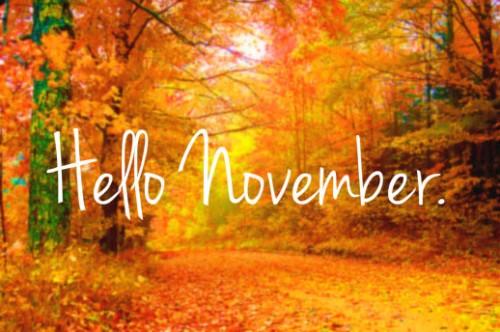 hello november e1351782126457 Imágenes tiernas de Noviembre
