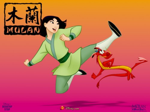mulan 31 e1353681172592 Imágenes tiernas de Mulan