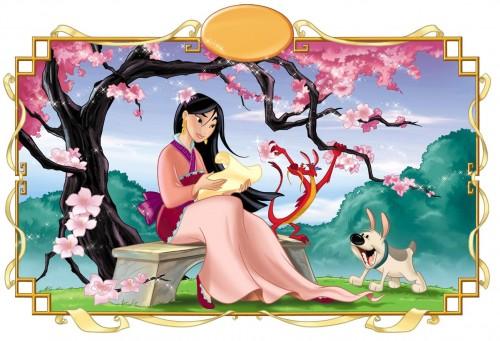 mulan princesa disney e1353681218100 Imágenes tiernas de Mulan