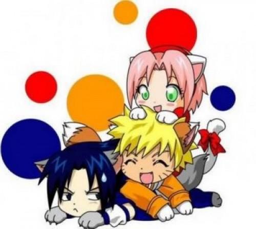 naruto y amigos e1352239965833 Imágenes Tiernas de Naruto