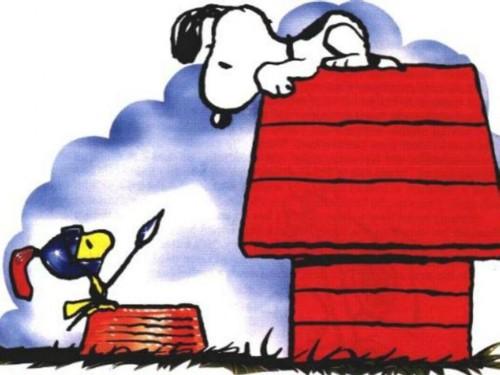 snoopy y emilio e1353082706745 Imágenes tiernas de Emilio (Woodstock)