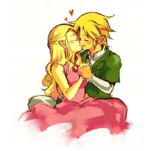 zelda e1353825058445 Imágenes románticas de Link y Zelda