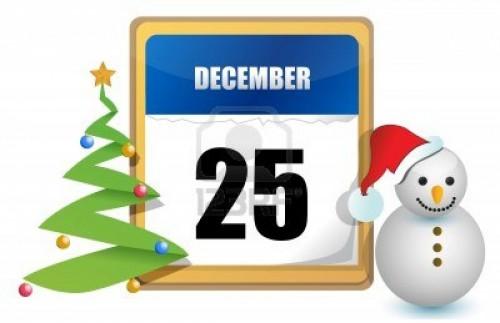 11662172 25 de diciembre del calendario de los arboles y diseno ilustracion muneco de nieve e1356441298914 25 de Diciembre