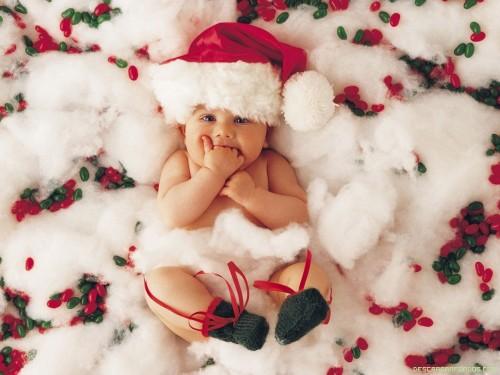 Bebe disfrazado de Santa Claus e1354982093369 Bebés disfrazados de Santa Claus