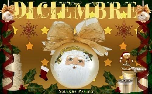 """CARTEL DE DICIEMBRE e1354373840946 Imágenes tiernas de """"Bienvenido Diciembre"""""""