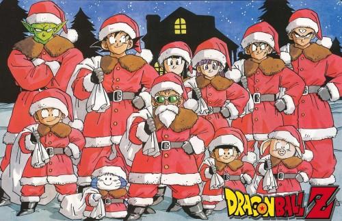 Dragon Ball Z Navidad e1354378678382 Imágenes navideñas Animes
