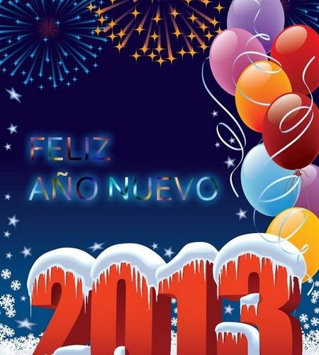 Las mejores imagenes de Feliz año nuevo 2013 78 450x500 Las mejores imagenes del Feliz año nuevo 2013 (80 imagenes)