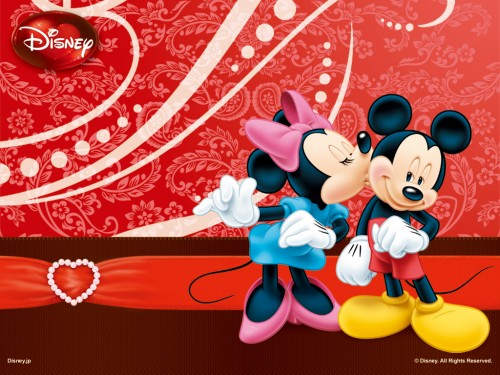 Mickey and Minnie Wallpaper classic disney 6432525 1024 768 e1355061367890 Imágenes tiernas de Mickey y Minnie