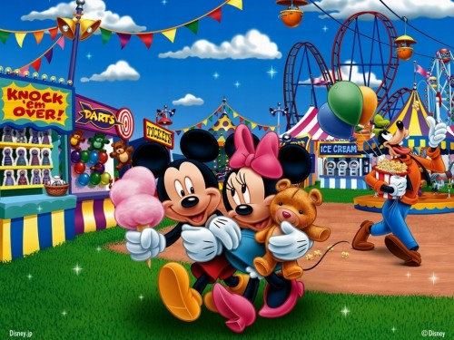 Mickey and Minnie at the Fair mickey and minnie 7969879 1024 768 e1355061412771 Imágenes tiernas de Mickey y Minnie