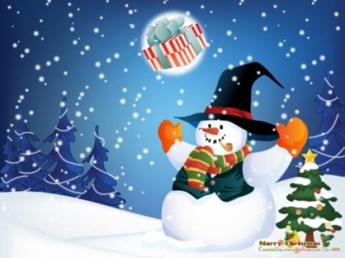 Muñeco de nieve 7 e1356129332667 Imágenes tiernas de muñecos de nieve