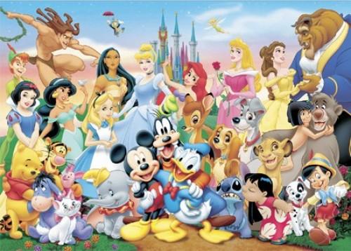 dibujos de disney e1354887861874 Imágenes tiernas de los personajes de Disney