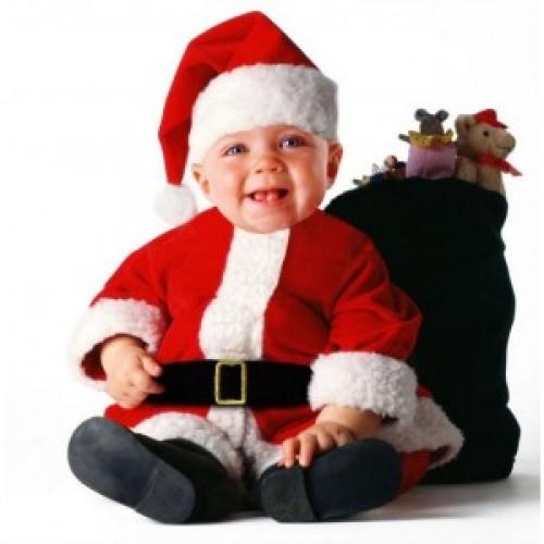 disfraz bebe navidad santa e1354982120417 Bebés disfrazados de Santa Claus